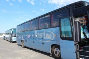 Autobusy, kterými jezdíme
